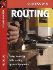 Success with Routing (Success with Woodworking)-ExLibrary