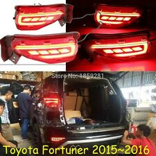 LED Rear Bumper Reflector Surface emission Light For Toyota fortuner 2015-2016