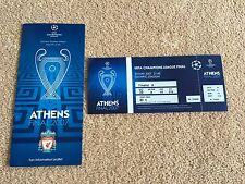 LIVERPOOL FC V AC MILAN 2007 UEFA Champions League Final Ticket Reproduction