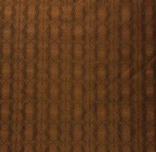 """DUPIONI SILK SHALIMAR COPPER BROWN S3033 GEOMETRIC TRELLIS FABRIC BY YARD 54""""W"""