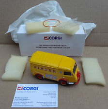 Corgi Heritage - COLOUR TRIAL - Pinder Circus Renault - PRE-PRODUCTION SAMPLE