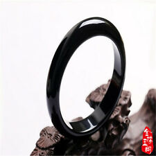 New beautiful Natural Black agate jade bangle bracelet