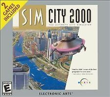 SimCity 2000 / Streets of Simcity Jewel Case - PC