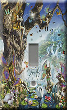 Single Light Switch Plate Cover - Fairy Falls
