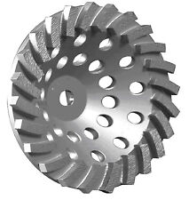"7""X24SEG HEAVY DUTY SPIRL TURBO DIAMOND CUP WHEEL 4 CONCRETE BLOCK GRINDING-BEST"