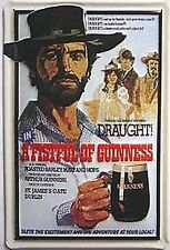 Guinness - A Fistful of Guinness embossed steel sign  300mm x 200mm (hi)