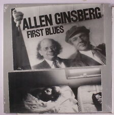 Allen Ginsberg First Blues Vinyl LP Record & MP3 bonus! bob dylan ONLY 500! NEW!