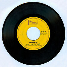 Philippines THE TEMPTATIONS Heavenly 45 rpm Record