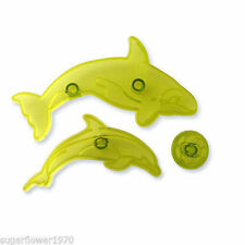 Jem Aquatic Action Dolphin Whale & Ball Sugarcraft Cutters  NEXT DAY DESPATCH