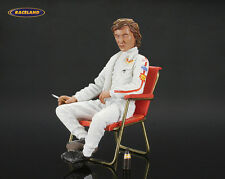 Personaggio/figure JOCHEN RINDT LOTUS f1 1970 in sedia pieghevole, Le Mans Miniatures 1:18
