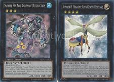 Yugioh Authentic Vetrix Deck - Number 30 - Crest - Yugioh 44 Cards + Bonus