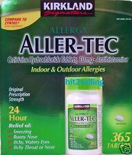 Aller - Tec 24 Hour Allergy Relief Sneezing, Runny Nose, Kirkland Generic Zyrtec