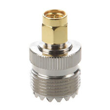Hot Sale UHF SO-239 SO239 Female to SMA Male Plug Connector Coaxial Adapter AD