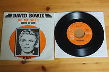 Rare David Bowie Be My Wife / Speed of Life RCA 7in 1977 45RPM EX PB1017 HOLL
