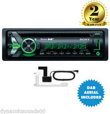 Sony MEX-N6001BD CD MP3 Bluetooth Car Stereo DAB+ Radio USB iPod iPhone + AERIAL