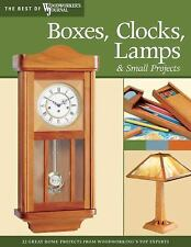 Boxes, Clocks, Lamps, and Small Projects (Best of WWJ): Over 20 Great -ExLibrary