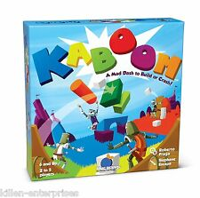 Kaboom Family Action Family Game Blue Orange! 6+ up 2-5 players Castles Knights