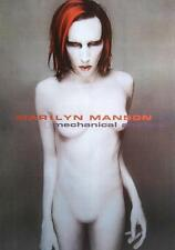 MARILYN MANSON POSTER MECHANICAL ANIMAL