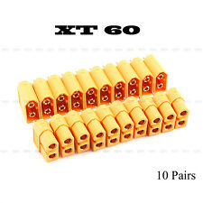 XT60 High Quality Male & Female Bullet Connectors Plugs For RC LiPo Battery