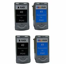 Ink Cartridge for Canon PG-40/CL-41 use in Canon Pixma MX300 (2 Black+2 Color)