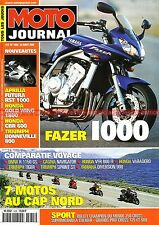 MOTO JOURNAL 1435 BMW R1150 GS TRIUMPH Tiger Sprint 955 YAMAHA XJ 900 Diversion