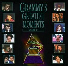 Grammy's Greatest Moments, Vol. 4 Various Artists MUSIC CD