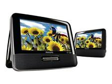 "Philips PD7012/37 7"" LCD Dual Screen Portable DVD Player - 2 Screens"