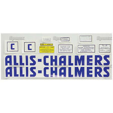 New Allis Chalmers C Complete Decal Set