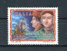 Italia 1998 5 centenario sbarco Cristoforo Colombo in Venezuela MNH
