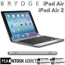 "Brydge Brydge9.7 Aluminium Keyboard Cover Case For iPad Air/Air 2/Pro 9.7"" GREY"