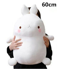 24'' White Molang Rabbit Plush Stuffed Doll 60cm Kids Toy Soft Cushion Xmas Gift