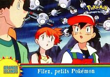 POKEMON Carte TOPPS NEUVE N° OR18 FILEZ, PETITS POKEMON