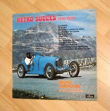 "rare vintage car cover lp 12"" pochette voiture France Bugatti 35b Spider"