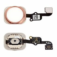 Home Button Flex Cable Ribbon Key Replacement For Apple iPhone 6S Plus Rose Gold