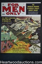 For Men Only Aug 1960 James Bama Cvr, Popp; Nappi; Copeland; Rossi, Julie Alexan