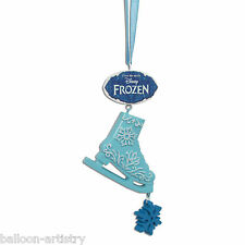 7cm Disney's Frozen Christmas Party Blue Ice Skate Hanging Tree Decoration