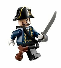 LEGO 4192 Pirates of The Caribbean Hector Barbossa Minifig w/ Wooden Leg *NEW*