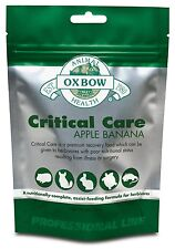 Oxbow Animal Health Critical Care Apple & Banana (141 gram)