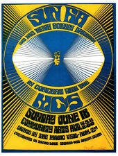 SUN RA and MC5 POSTER. Jazz, psychedelia.