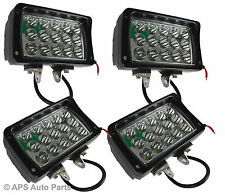 4x 45W 15 LED Work Light Lamp Spot Beam Jeep Tractor 4X4 Truck Bright 12v 24v CE