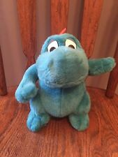 VINTAGE ~ PLANET HOLLYWOOD ~ CHRISTMAS CORNER ~ BLUE DRAGON with PLASTIC EYES
