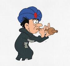 SMURFS Gargamel original production animation cell Matted Hanna Barbera PEYO