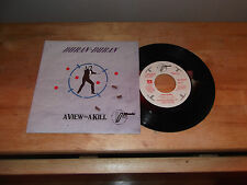 "DURAN DURAN ""A VIEW TO A KILL"" 7"" PARLOPHONE ITA 1985"