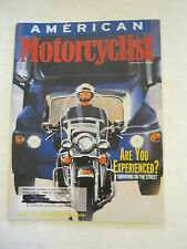 January 1998 American Motorcyclist Magazine, Are You Experienced?  (BD-28)