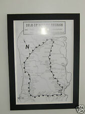 Isle of Man TT Course - High Quality A2 Poster print
