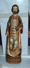 9 3/4 in ST SAINT JOSEPH WORKER Foster Father Jesus Resin Wood NEW Statue