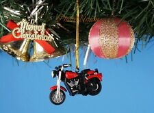 Decoration Xmas Ornament Home Party Decor Harley Davidson Motorcycle *K1088_K