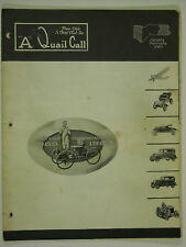 Jan-Feb 1963 A Quail Call Penn-Ohio Ford Model A Inc. Club Magazine