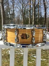 RARE YAMAHA BAMBOO SNARE DRUM 5.5x14, MADE IN JAPAN, FLAWLESS!! LOOK
