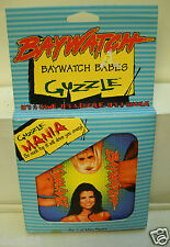 #6658 NIB Games Co Baywatch - Baywatch Babes Guzzle Puzzle Game